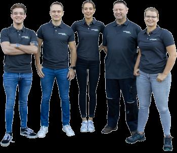 Teamfoto Slijpschijvenwinkel