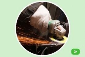Roest en corrosie verwijderen van metaal